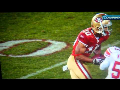 Kyle Williams fumbles again to lose game for 49ers vs. Giants 1.22.12