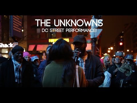 The Unknowns | Washington DC Street Band Performance after Women's March on Washington!