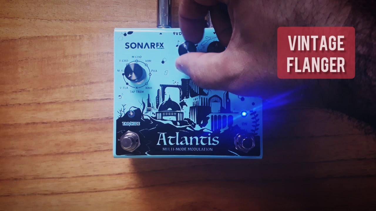 SonAr fx - Atlantis Multimode Modulation - Vintage Flanger