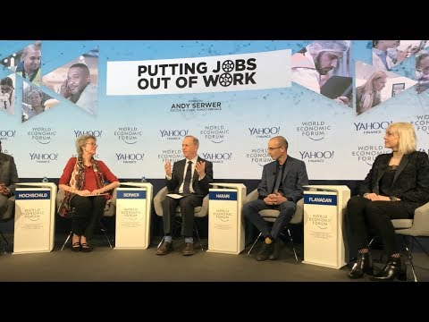 Putting Jobs Out of Work - Yuval Noah Harari Panel Discussio
