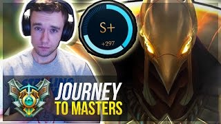 AZIR IS OP?! | S+ CARRY - Journey To Masters #12 S7 - League of Legends