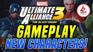 EVERY NEW Character in GAME! Marvel Ultimate Alliance 3 Gameplay Trailer REACTION!