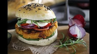 Co na obiad: Wegetariańskie burgery