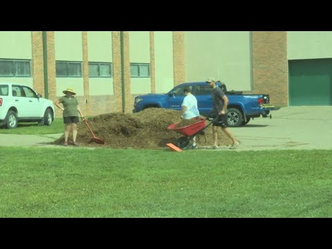 Warwood School's playground ready for back to school