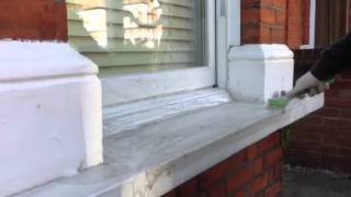 Repeat youtube video How to clean window sills