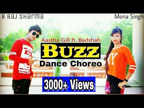 Buzz Dance | Aastha Gill ft. Badshah | R Raj Sharma Choreography Ft. Mona Singh