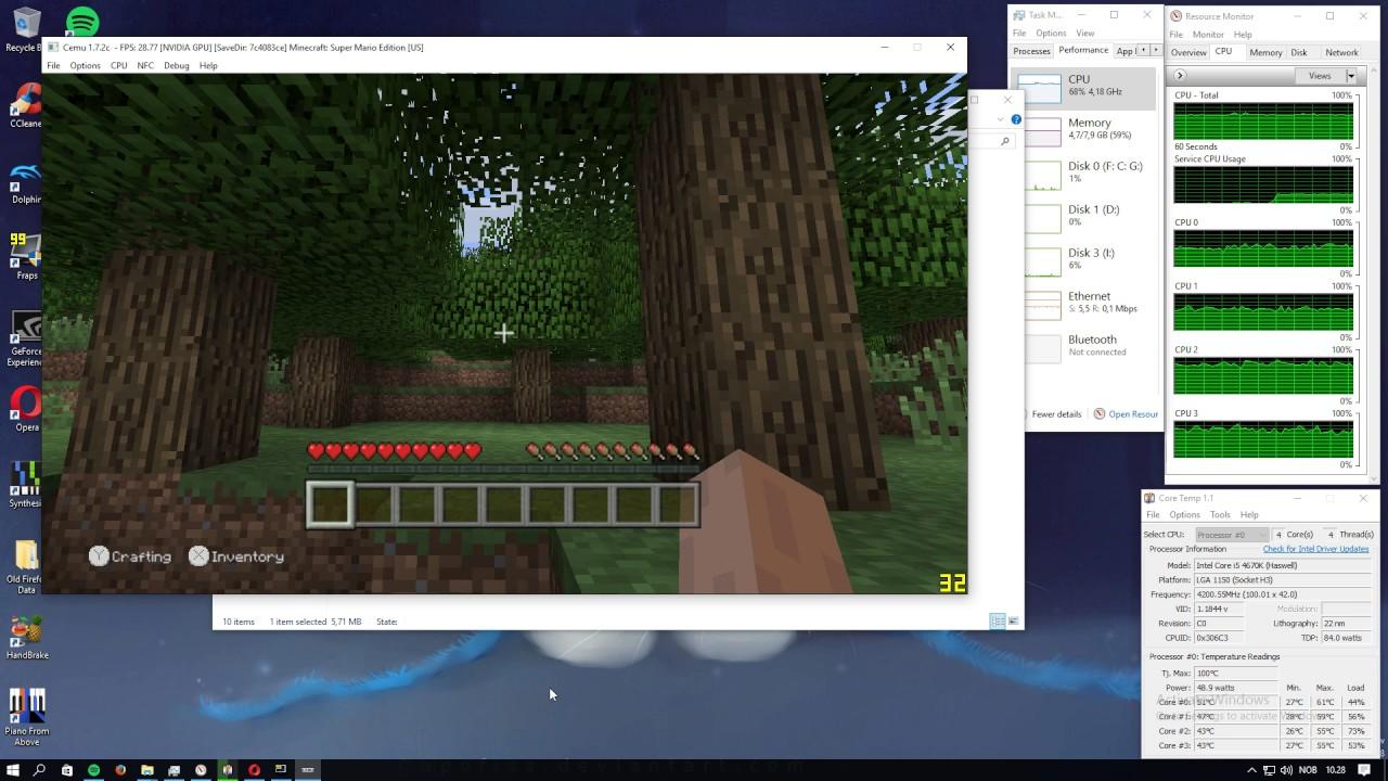Minecraft: Wii U Edition - CEMU Wiki