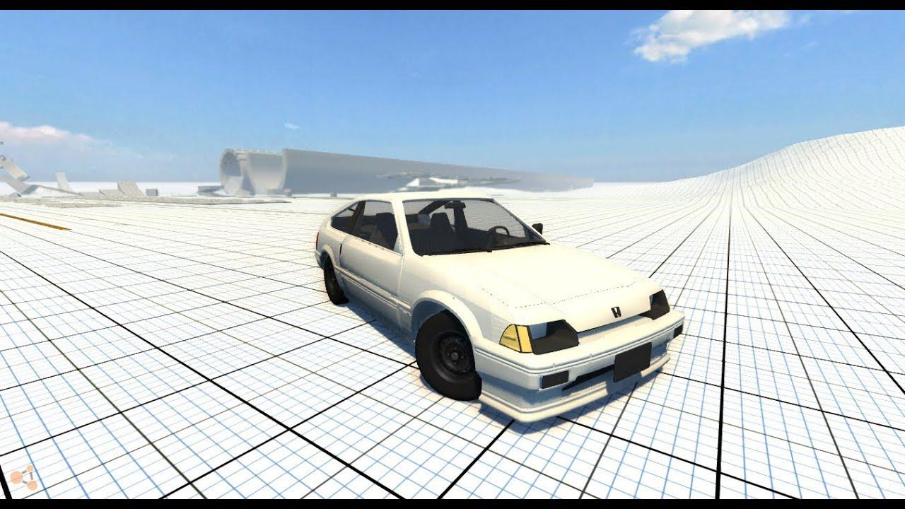 Honda Cr X >> BeamNG.Drive Mod : Honda CR-X 1.5i Beta - YouTube