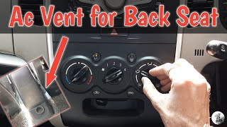 How to make Back Seat Ac Vent in Car (Only 80 Rs.)