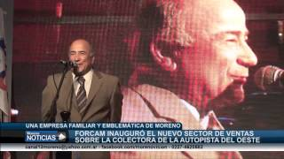 Inauguraron el nuevo local de Forcam - intendente Mariano West
