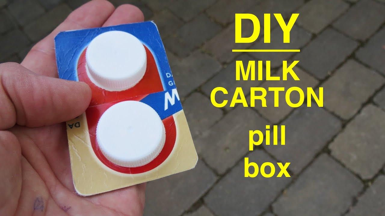 How to diy pocket pill box from milk cartons actually works how to diy pocket pill box from milk cartons actually works solutioingenieria Gallery