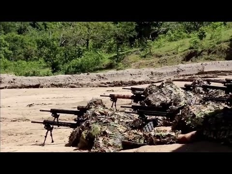 Philippine Army Tabak Troopers Marksmen capability demonstration