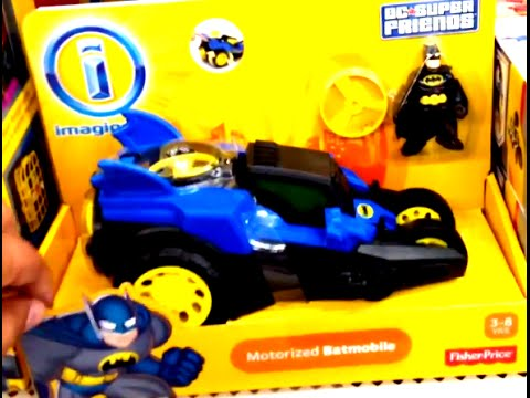 BATMAN Motorized Batmobile By Imaginext And Fisher Price [DC Super Friends]