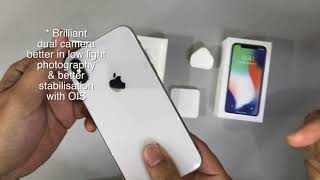 Gambar cover Iphone X unbox - Singapore Edition!