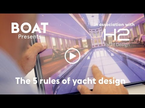 The 5 rules of yacht design
