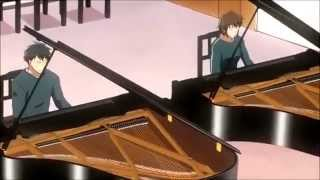 29.l 【Two Pianos】 Rachmaninoff Pianoconcerto No.2 Op.18-1 Nodame Cantabile anime