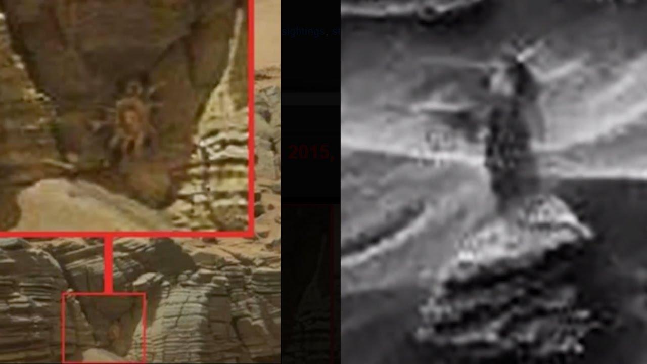 GOTCHA NASA!!! UFO Sightings ALIEN WOMAN & CREEPY CRAWLERS ...