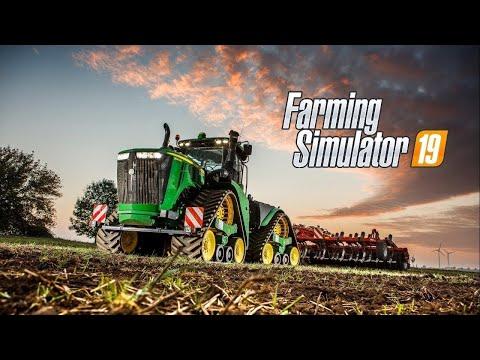 FARMING SIMULATOR 20: Играем в ферму, болтаем