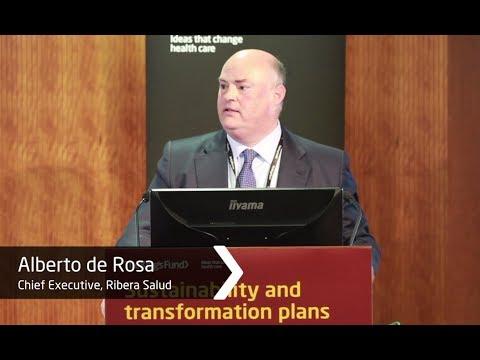 Alberto de Rosa: Ribera Salud Group - from hospital to population health management