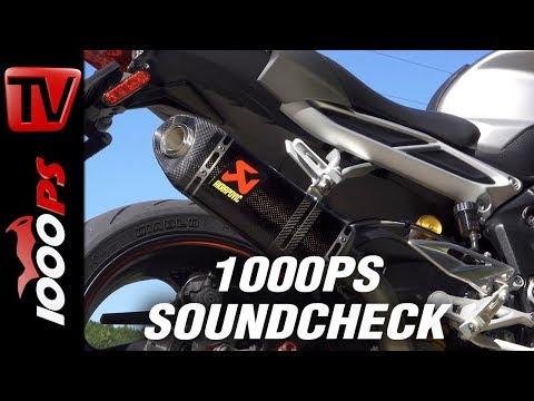 Triumph Street Triple RS Akrapovic Soundcheck