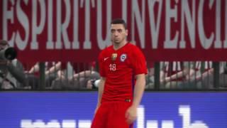 PES 2017 | ALEMANIA VS CHILE (1 - 1) - COPA CONFEDERACIONES RUSIA 2017 | Cafita96