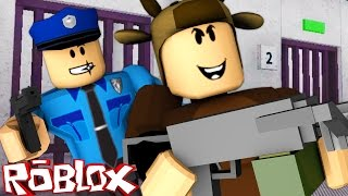 Roblox Adventures / ESCAPING PRISON IN ROBLOX! / REDWOOD PRISON!
