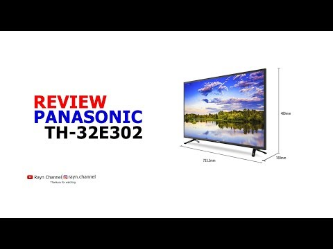 Review TV LED Panasonic TH-32E302G
