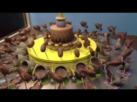 Optical Illusion of the Day: Spinning Illusion of the Chocolate Zoetrope