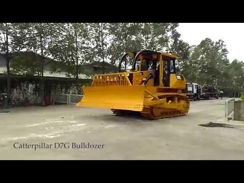 Jakarta Auctions - Caterpillar D7G Bulldozer