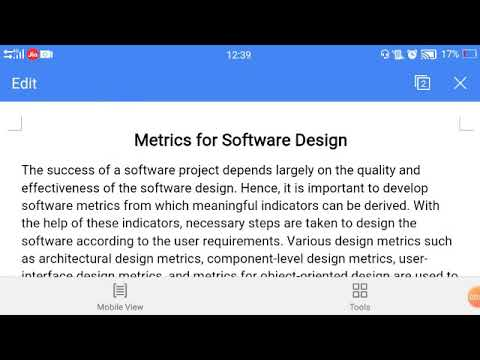 Metrics For Software Design Part1 Software Engineering Youtube