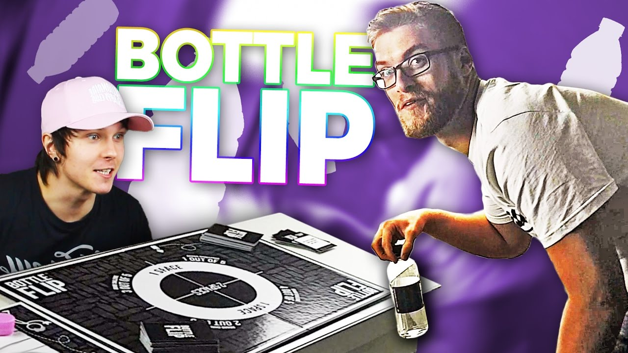 Bottle Flip Board Game Youtube