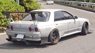 【大黒PA】国産 改造車 加速サウンド/JDM acceleration sound in Japan. NSX, GTR, Z, FD, and more‼️