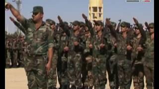 В СИРИИ НЕТ ВОЙНЫ - НО ЕСТЬ НАЦИЗМ - ч.5 Выпуск студентов на военном аэродроме Кверс в Алеппо