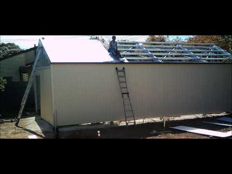 Alpha Industries Shed / Garage Installation