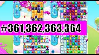 Candy Crush Soda Saga Level 361, 362, 363, And 364 | Complete!