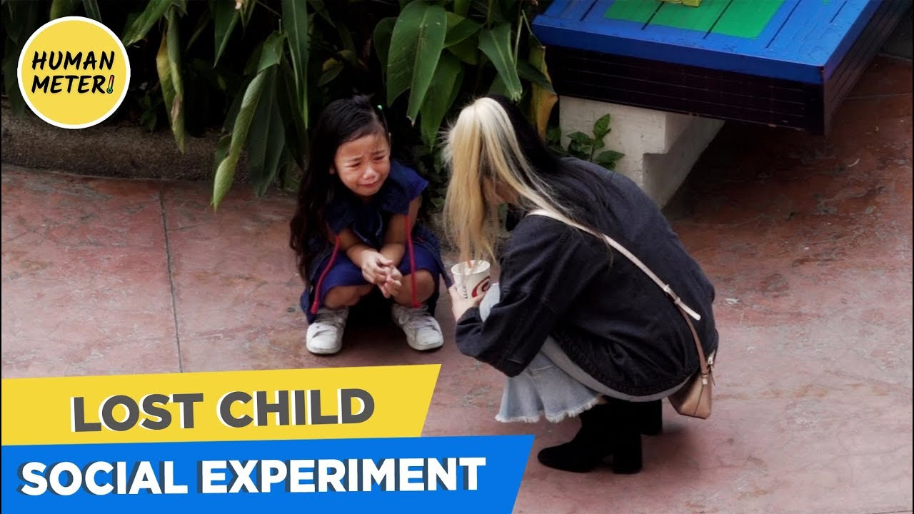 Shocking Social Experiment: People Don't Care About Lost Child | HumanMeter