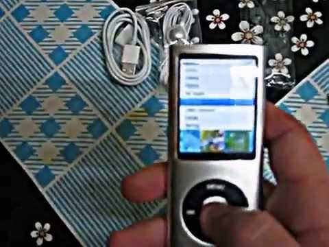 5th Generation 4GB MP3 Player 2 2'' with HD 1.3MP Camera
