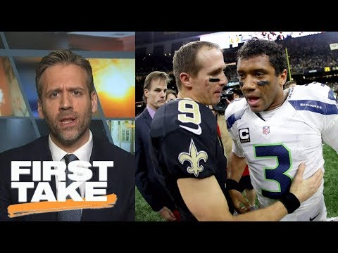 Max says Russell Wilson is better than Drew Brees   First Take   ESPN