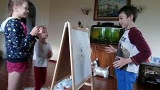 Игра,челендж,рисуем.5-9 лет.