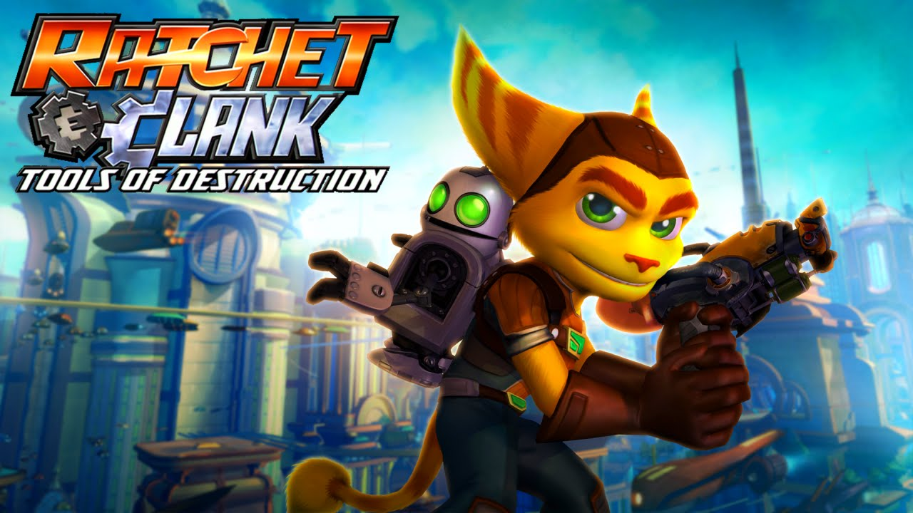 Ratchet And Clank Tools Of Destruction Playthrough Part 1 Intro