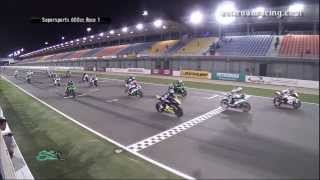 Round 6 Qatar - SuperSports 600cc Race 1 (Part 1) - PETRONAS Asia Road Racing Championship