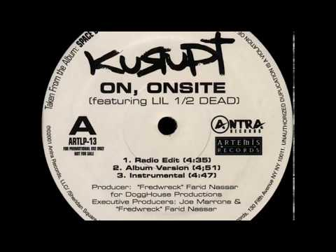 Kurupt ‎– On, Onsite [Instrumental]