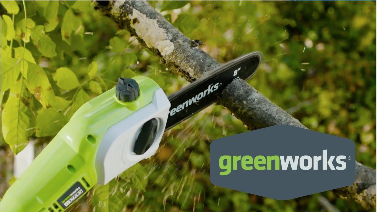 Greenworks 40-Volt Pole Saw