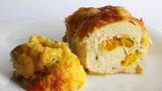 Куриные Рулетики с Мандарином кулинарный видео рецепт