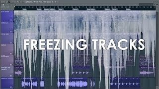 FL Studio Guru | Freezing Tracks in FL Studio