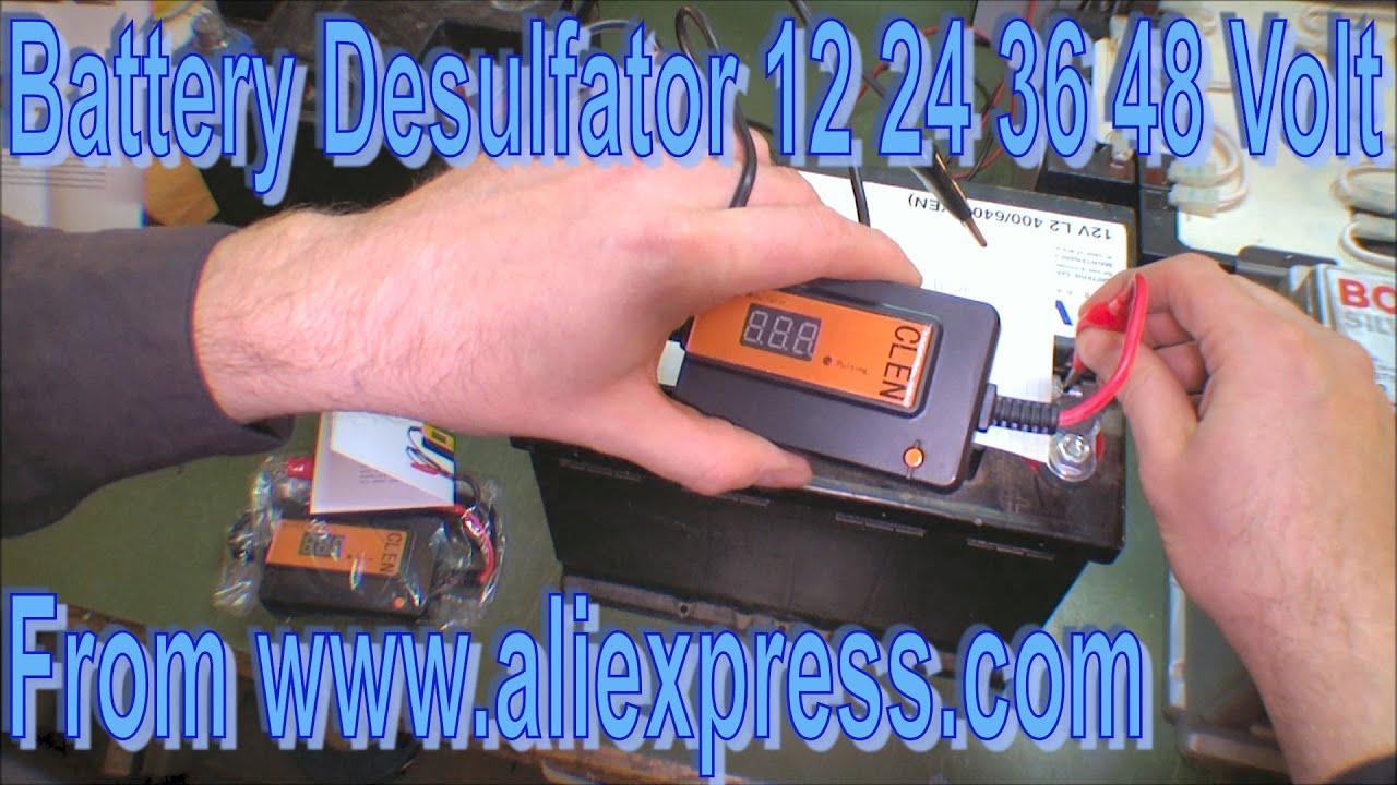 Two new Battery Desulfators 12 24 36 48 Volt - 170
