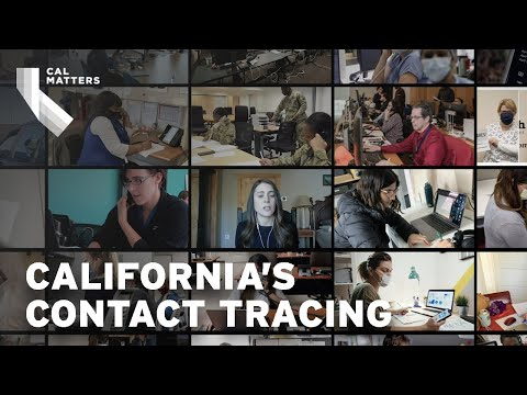 Inside California's contact tracing efforts