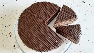 Шоколадный Торт Прага по ГОСТу Очень шоколадный вкус