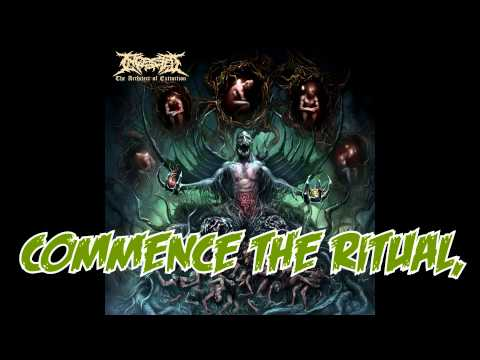 INGESTED - The Heirs To Mankind's Atrocities (With lyrics)