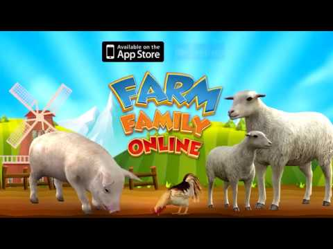 Farm Family Online [Launch Trailer] - iOS & Android OUT NOW!